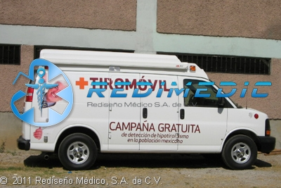 Ambulancia Tipo II - Áreas médicas disponibles
